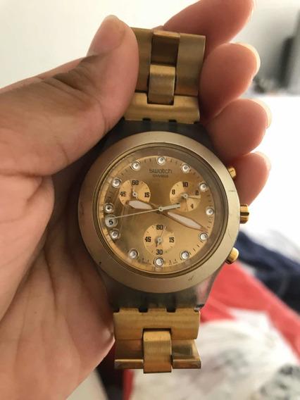 Relógio Swatch Irony Diaphane Gold Feminino