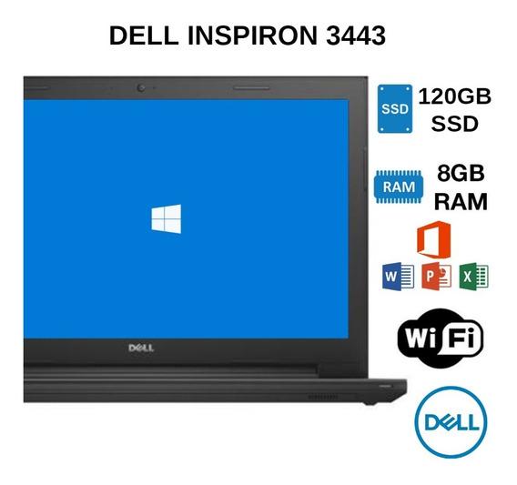 Notebook Dell Core I5 Ram 8gb Ssd 120gb