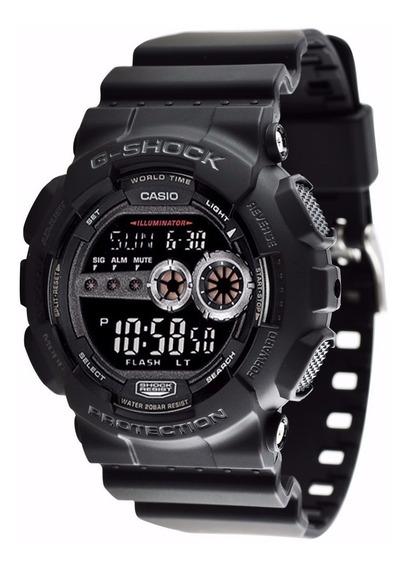 Relógio Casio G Shock Gd-100-1bdr Gd100 Original + Nfe
