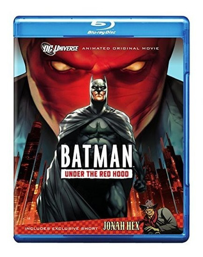 Batman: Debajo De Red Hood [blu-ray]