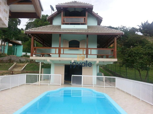 Excelente Chácara Costinha 20000m² Casa Com 4 Quartos, 1 Suíte Master, Piscina, Quadra, Tanque De Peixes... - Ch0033