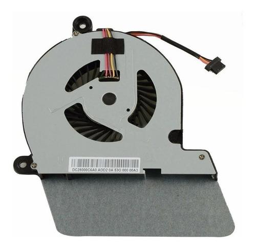 Ventilador Toshiba  U900 U940 U945 4 Pines * Cooler