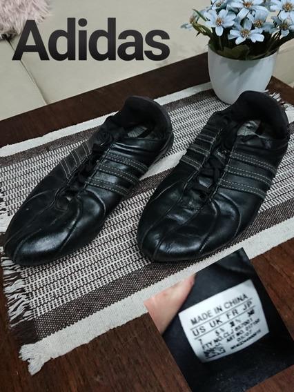 Zapatillas adidas Talle 38 Negras Usadas Impecables