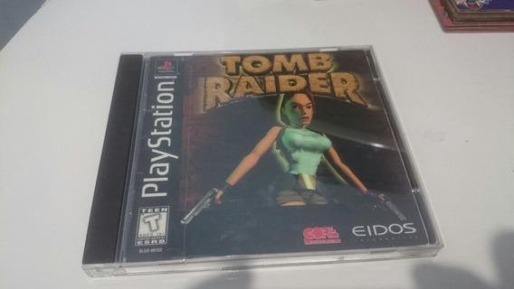 Jogo Ps1 Tomb Raider Prensado + Manual Original
