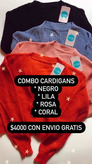 Lote Combo Cardigans Mujer