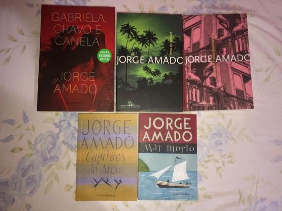Lote Com 5 Livros Jorge Amado