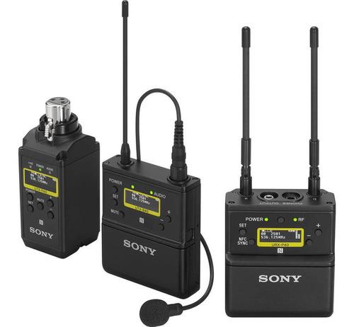 Sistema Wireless Sony Uwp-d26 De Microfone De Lapela Sem Fio