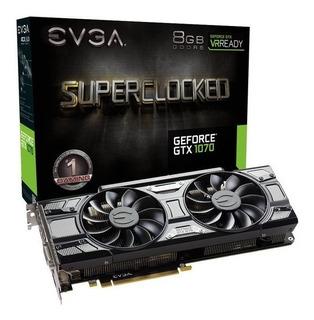 Tarjeta De Vídeo Evga Geforce Gtx 1070 Sc 8gb Gaming