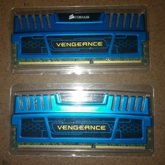 Memória Ram Corsair Vengeance 16gb (2x8gb) Ddr3 1600mhz Cl10