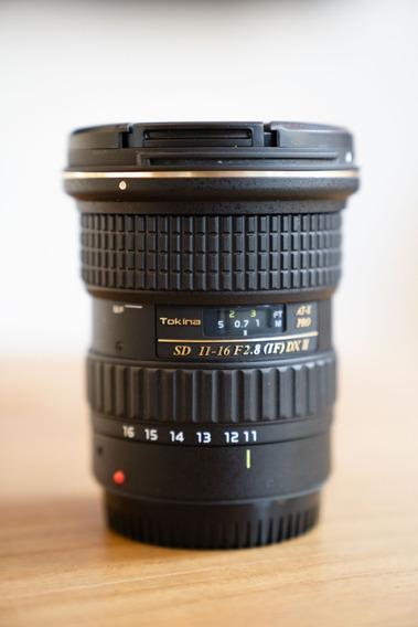 Lente Tokina 11-16mm 2.8f For Canon