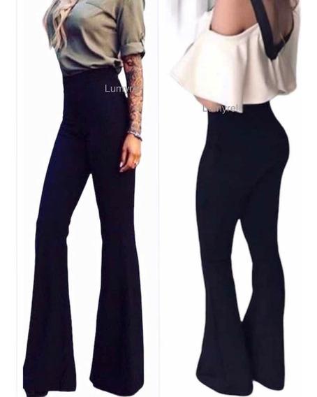 Pantalon De Vestir Oxford Bengalina Elastizado Gruesa Negro Mercado Libre