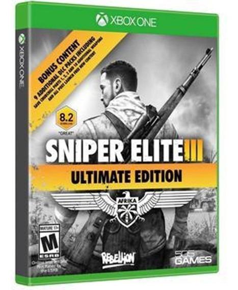 Jogo Sniper Elite 3 Xbox One Midia Fisica Novo Nacional Br