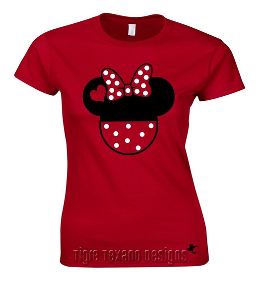 Playera Pareja (ella) Mickey Mod. 04 By Tigre Texano Designs