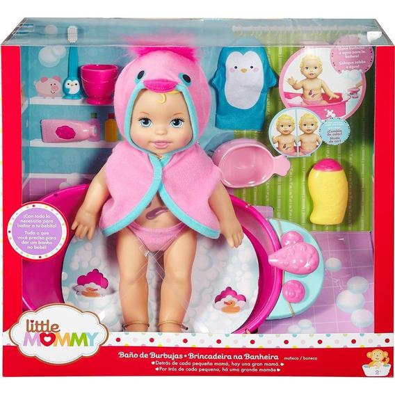 Little Mommy Brincadeira Na Banheira - Mattel 12x Sem Juros