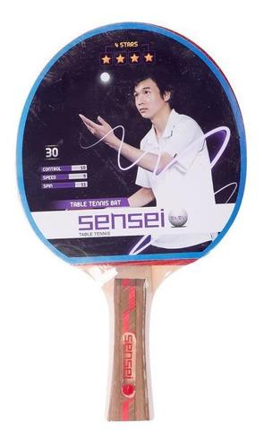 Imagen 1 de 1 de Sensei Accesorios - Paleta Ping Pong 4 Estrellas