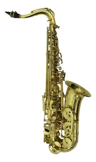 Saxofón Alto Laqueado Con Estuche Y Accesorios De Paquete