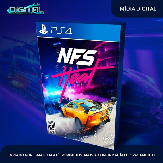 Need For Speed Heat Psn Ps4 Game Digital Receba Agora!