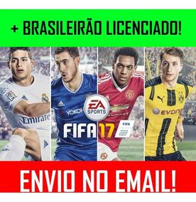 Fifa 17 Pc + Elencos Brasileirão + 1 Jogo