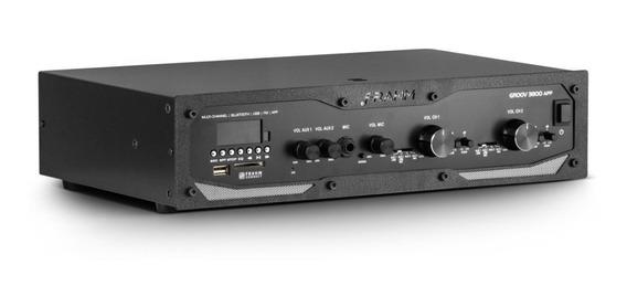 Amplificador Profissional Frahm Gr 3800 App 12x S\juros