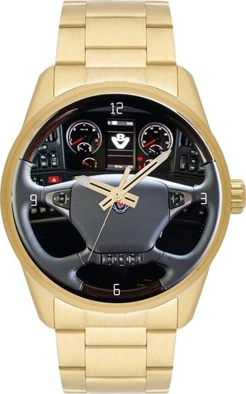 Relógio De Pulso Personalizado Painel Caminhão Cod.carp001
