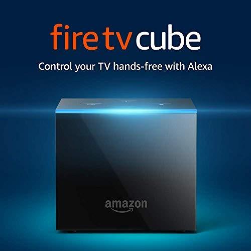 Fire Tv Cube Manos Libres Con Alexa Y 4k Ultra Hd Incluye To