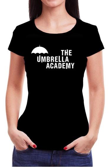 Camiseta Feminina The Umbrella Academy - 100% Algodão