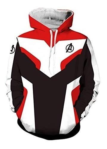 Avengers Endgame Sudadera Talla Extra Unisex Capitan 2