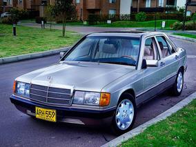 Mercedes Benz 190 E 1984 Perfecto / De Los Mejores Del País.