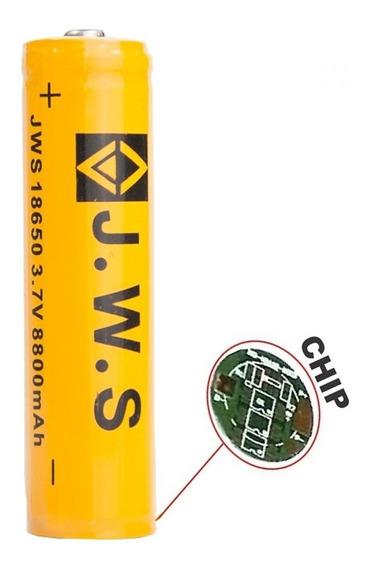 Bateria Recarregável 18650 3.7-4.2v Li-ion 8800mah Com Chip