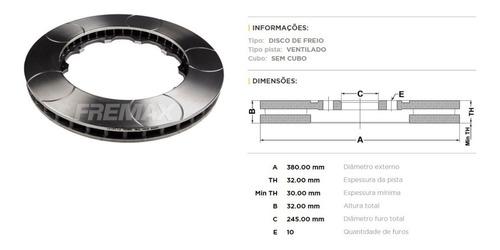 Imagem 1 de 2 de Disco De Freio Dianteiro Frisado Porsche 911 Gt3