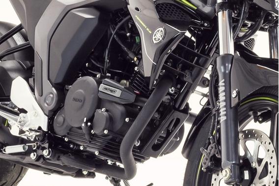 Slider Defensa Ghost Negro/gris Yamaha Fz 2.0 Fi Fire Parts