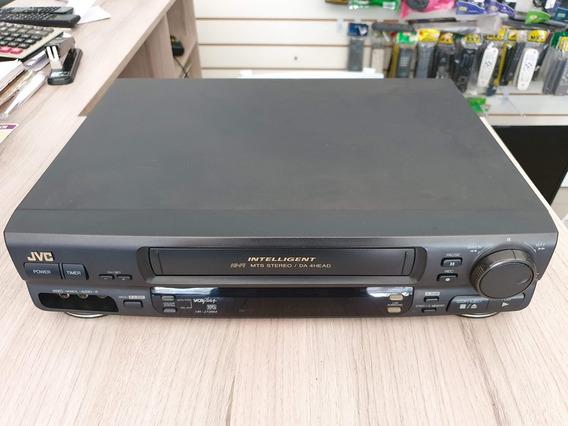 Video Cassete Jvc Hi Fi Stereo Hr J726m Leia O Anuncio