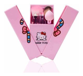 Brochas Hello Kitty Con Espejo