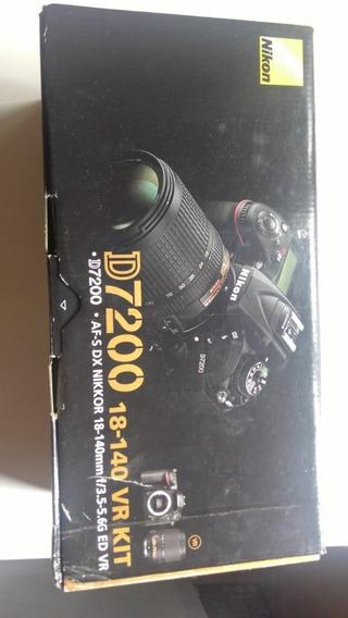Câmera Digital Nikon Dslr D7200 Corpo - Super Conservada