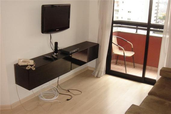 Flat Com 2 Dormitórios Pronto Para Morar No Brooklin - Fl0300