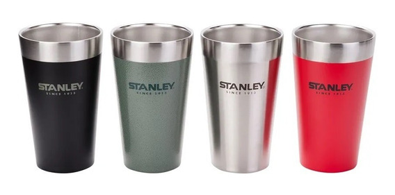 Set De Vasos Termicos Stanley Pintas De 473ml X 4 Unidades