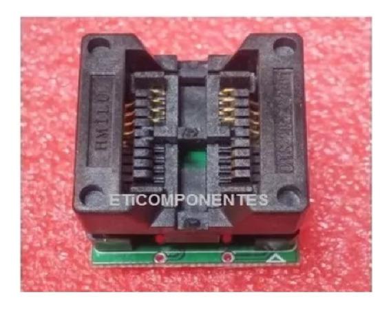 Adaptador Socket Soquete Sop8 200 Mil P/ Dip8 Rt809h Origin
