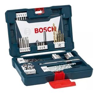 Set Kit De 48 Piezas Bosch Mechas De Titanio Y Puntas
