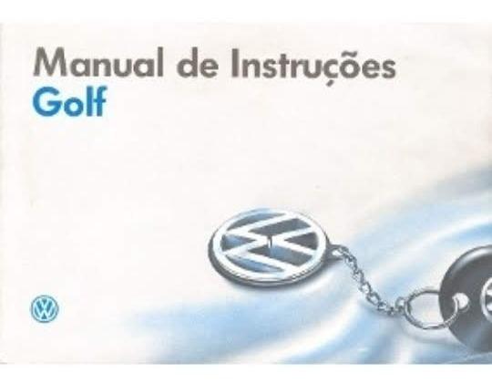 Kit Manual Do Proprietario Golf 2016/2019 Originalvolkswagen