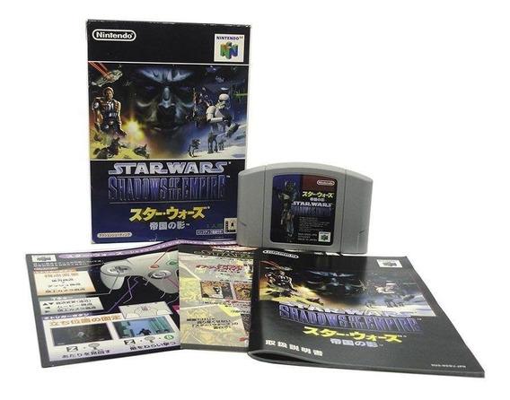 Star Wars Shadows Of The Empire N64 Mídia Física