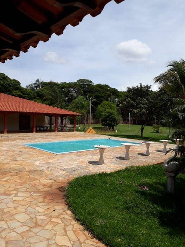 Imagem 1 de 11 de Chácara Com 3 Dormitórios Para Alugar, 5352 M² Por R$ 5.000,00/mês - Recreio Internacional - Ribeirão Preto/sp - Ch0103