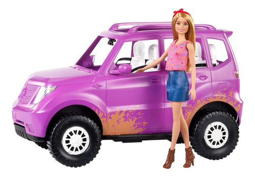 Muñeca Barbie Y Vehículo Barbie Sweet Orchard Farm