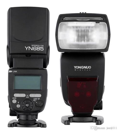 Flash Fotográfico Yongnuo Original Yn-685 C Ttl Yn685c Para Canon