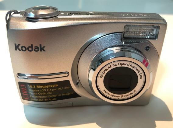 Câmera Kodak Easyshare C1013 Com Sd Card 2gb Nunca Usada