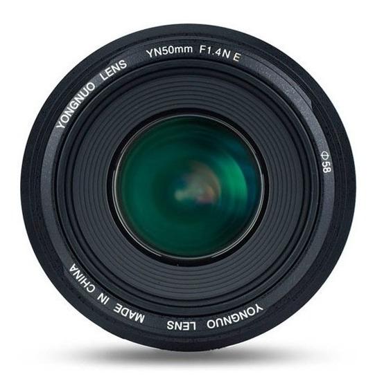 Lente Yn50mm F/1.4 Para Nikon Yongnuo