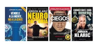Pack Jurgen Klaric 4 Libros - Paidos Nuevo