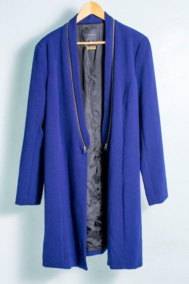 Casaco Blazer Algodão Azul Alcaçuz