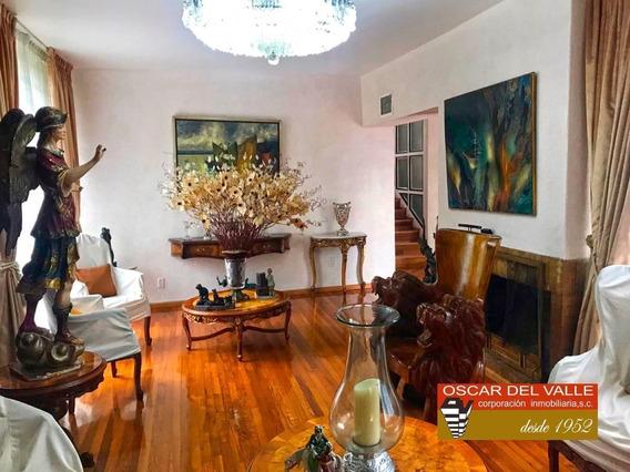 Lomas De Chapultepec, Residencia Para Remodelar A Su Gusto.