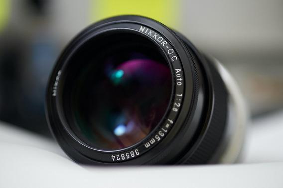 Nikon 135mm 2.8 Modific Ai Imaculada C Adap Serve Fuji Sony