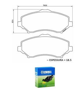 Pastilha Freio D. Cobreq Freemont 2.4 16v Precision Após 11